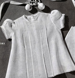 Baby Dress Edging Pattern