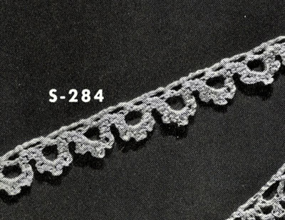Edging No. S284 Pattern