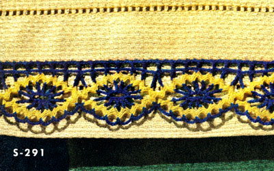 Guest Towel Edging Pattern