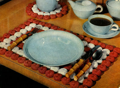 Magic Mat Place Mat & Hot Plate Mat Pattern