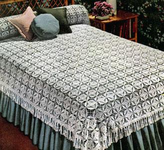 California Modern Bedspread Pattern