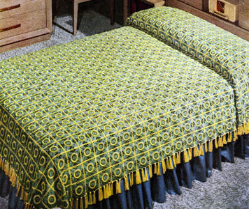 Pennsylvania Modern Bedspread Pattern