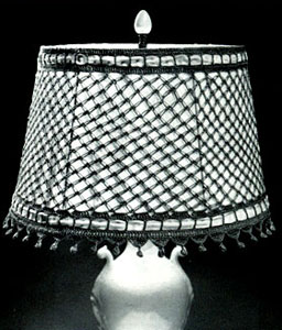 Lover's Knot Lamp Shade Cover Pattern