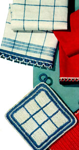 Towel Edging & Pot Holder 1 Pattern