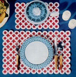 Place Mat & Hot Plate Mat 2 Pattern