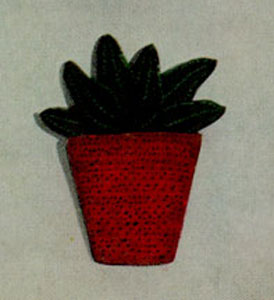 Flower-pot Pot Holder