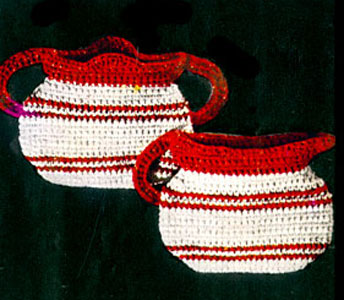 Sugar 'n Cream Pot Holder Pattern