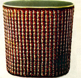 Waste Basket Cover Pattern