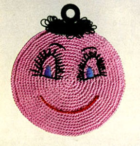 Happy Chappie Pot Holder Pattern