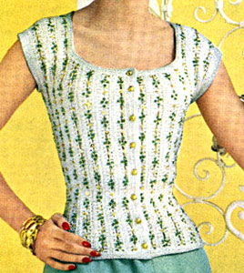 Lacy Torso Blouse Pattern