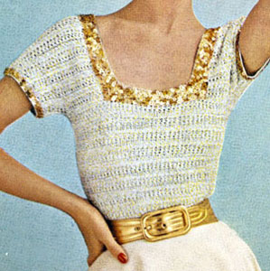 Square Neck Blouse Pattern