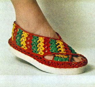 Beach Sandal Pattern Crochet Patterns