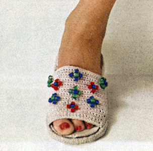 Beaded Slipper Pattern
