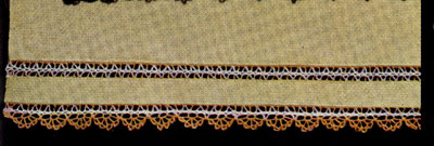 Edging and Insertion for Yellow Guest Towel Pattern