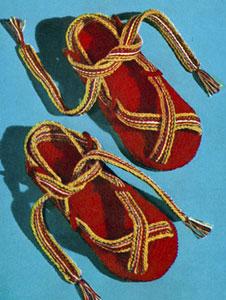 Beach Sandals Pattern