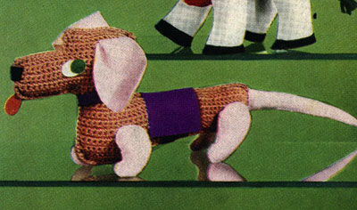 Dachshund Toy Pattern