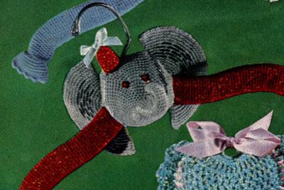 Elephant Hanger Pattern