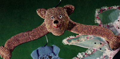 Bear Hanger Pattern