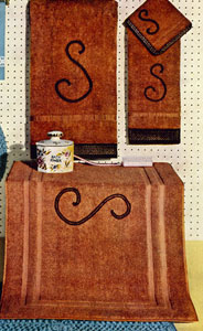 Spice Edging & Monogram Set Pattern
