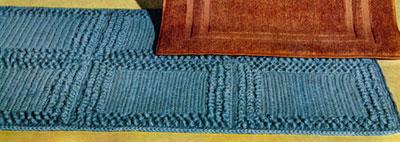 Aqua Rug Pattern