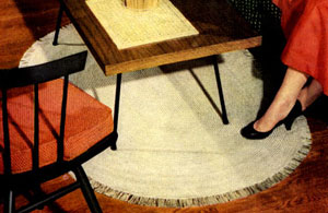 Oval Rug Pattern