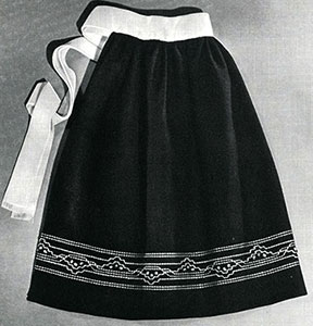 Hostess Apron Pattern #S-968