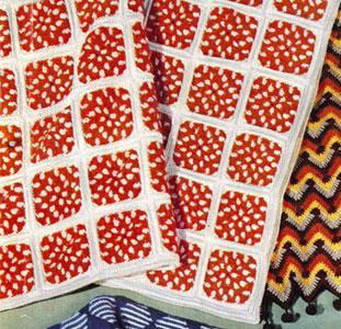 Polka Dot Afghan Pattern