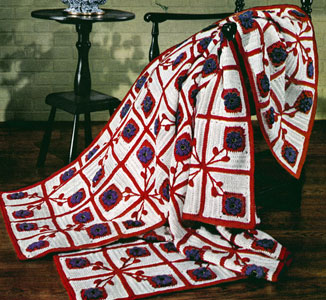 Pennsylvania Dutch Afghan Pattern