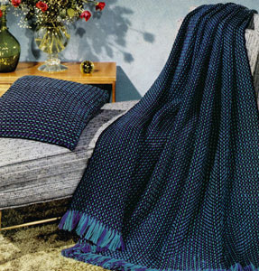 Peacock Afghan Pattern