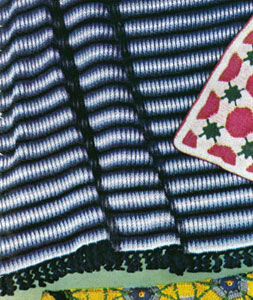 Shaded Stripes Afghan Pattern