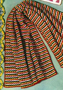 Navajo Afghan Pattern
