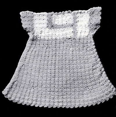 Shell Stitch Dress Pattern