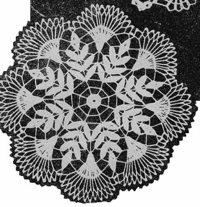 First Style Doily Pattern #7151