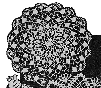 Third Style Doily Pattern #7151