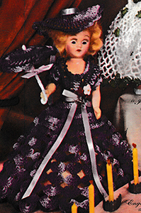 English Lavender Doll Pattern