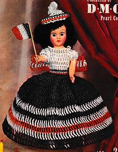 Miss France Doll Pattern