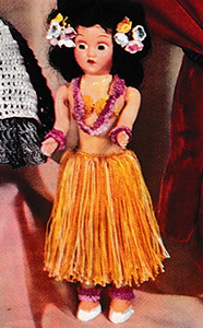 Miss Hawaii Doll Pattern