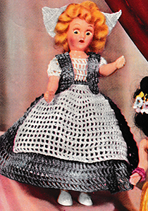 Miss Holland Doll Pattern