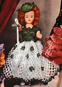 Irish Colleen Doll Pattern