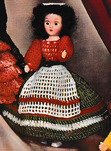 Miss Italy Doll Pattern