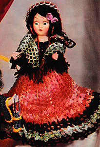 Miss Latin America Doll Pattern