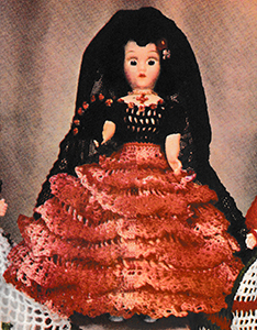 Miss Spain Doll Pattern