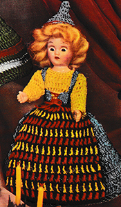 Miss Sweden Doll Pattern