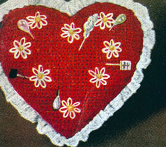 Sweetheart Pin Cushion Pattern