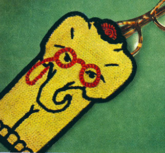Professor Elephant Eye Glass Case Pattern