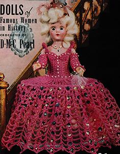 Marie Antoinette Doll Pattern