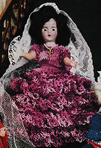 Queen Isabella Doll Pattern