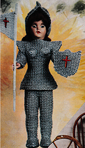 Joan of Arc Doll Pattern