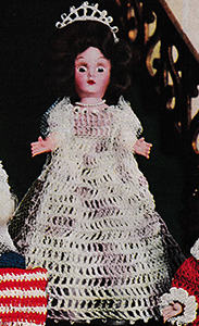 Empress Josephine Doll Pattern