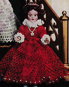 Mary Queen of Scots Doll Pattern
